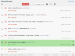 Todo.txt for Chrome - light theme with green highlight